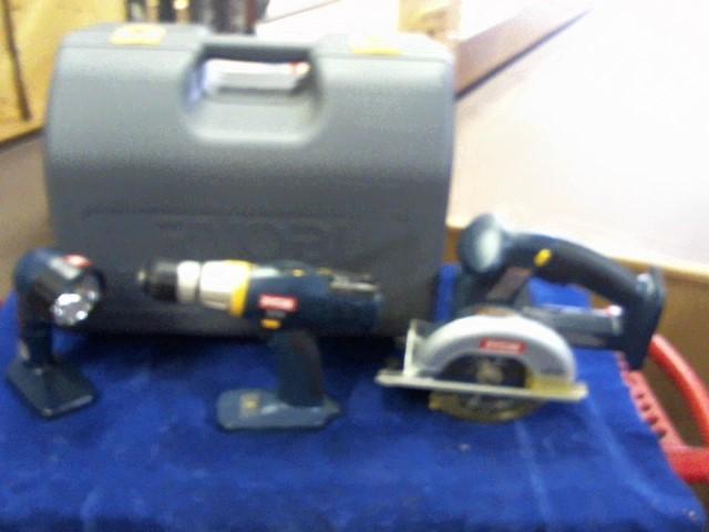 RYOBI Combination Tool Set 3 PIECE COMBO SET