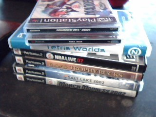 SONY Sony PlayStation 2 PS2 GAMES