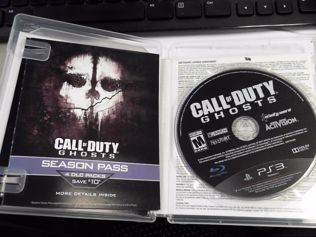 SONY Sony PlayStation 3 CALL OF DUTY GHOSTS - PS3