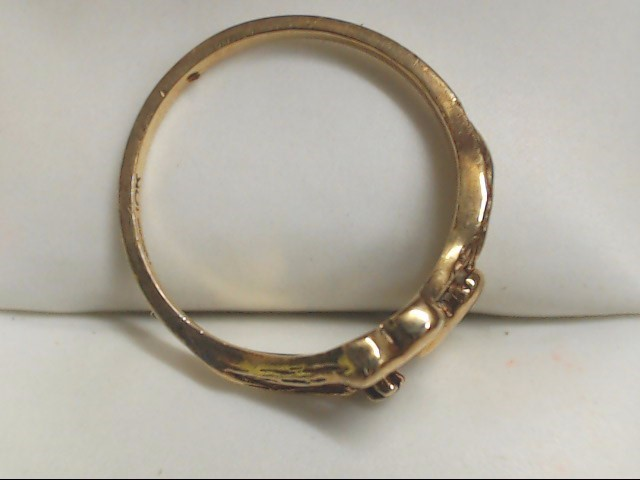 Lady's Gold Ring 10K Yellow Gold 1.9g Size:6