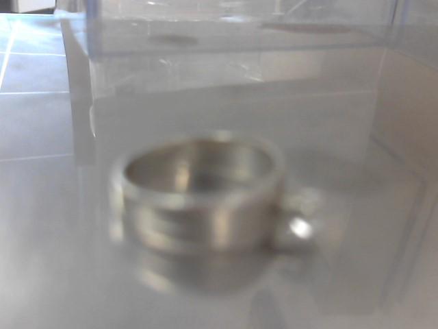 Lady's Diamond Engagement Ring .17 CT. 14K White Gold 3.9g Size:7