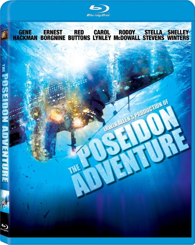 THE POSEIDON ADVENTURE, ACTION BLU-RAY DVD, GOOD CONDITION.