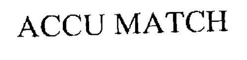 ACCU-MATCH