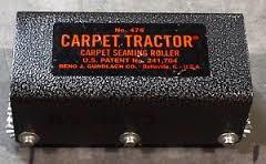 CARPET TRACTOR