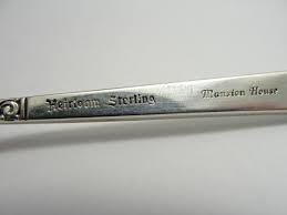 HEIRLOOM STERLING