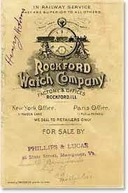 ROCKFORD WATCH CO