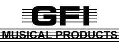 GFI MUSICAL PRODUCTS