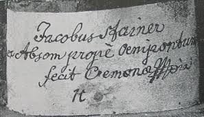 JACOBUS STAINER IN ABSAM