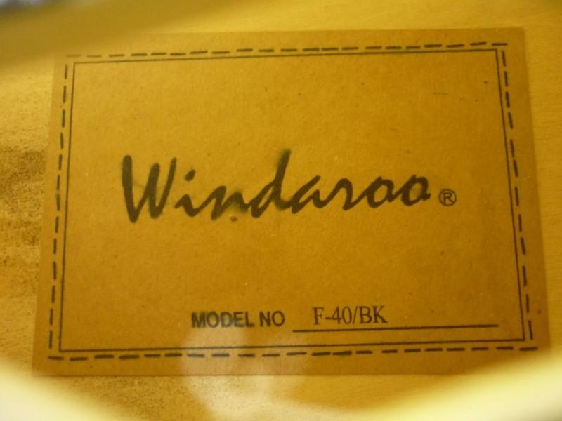 WINDAROO GUITAR