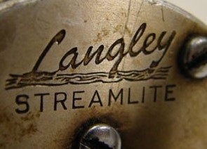 LANGLEY FISHING REEL