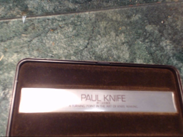 PAUL KNIFE