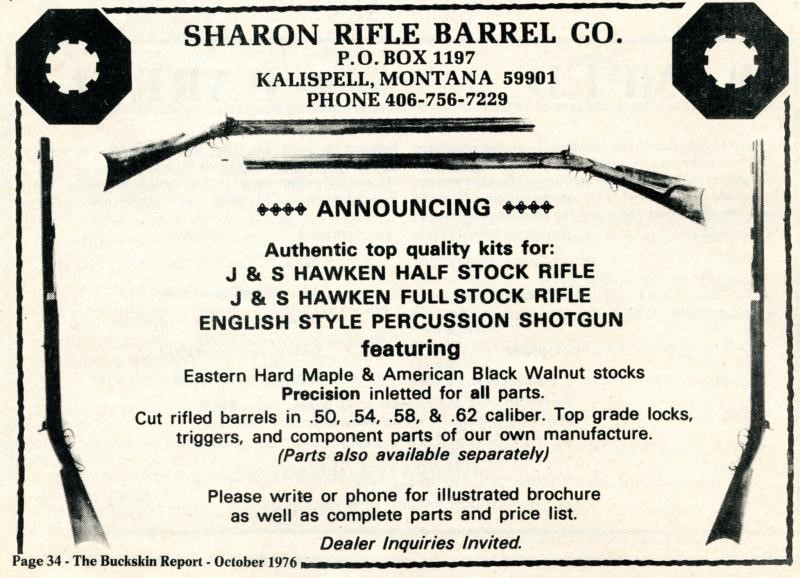 SHARON RIFLE CO