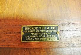 GEORGE ZEE & CO