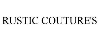 RUSTIC COUTURE'S
