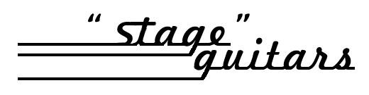 STAGE GUITARS