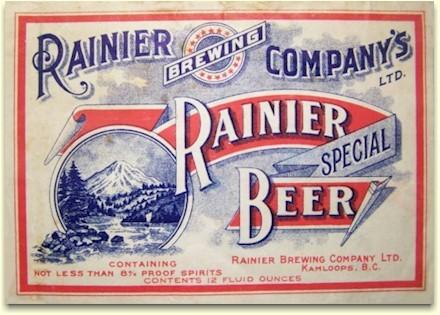RAINIER BREWING COMPANY