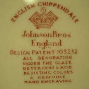 JOHNSON BROTHERS PORCELAIN