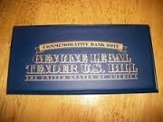 COMMEMORATIVE BANK NOTE