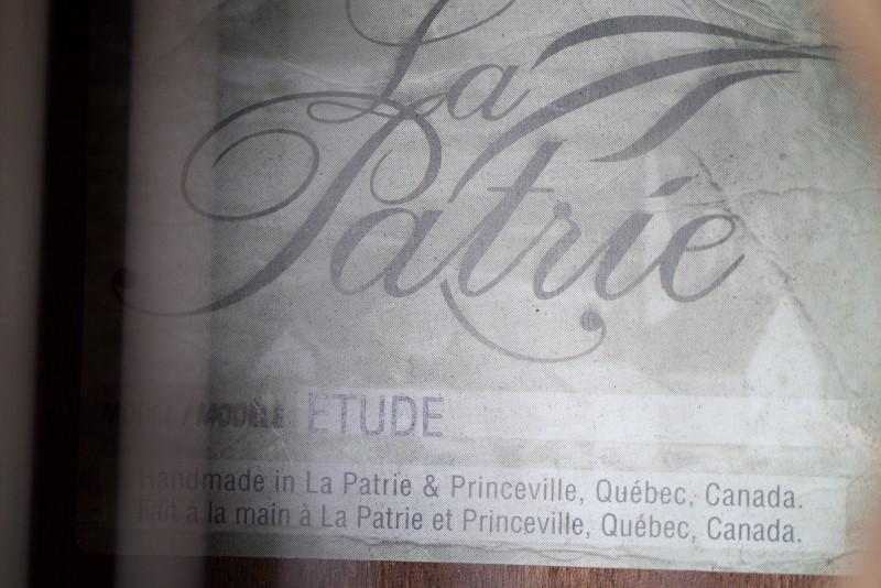 LA PATRIE ETUDE