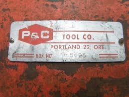 P & C TOOL COMPANY