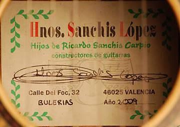 CASA LOPEZ GUITAR