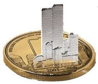 TWIN TOWERS COIN