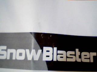SNOWBLASTER