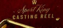 SPORT KING FISHING REEL