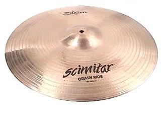 """ZILDJIAN Cymbal 18"""" CRASH RIDE"""