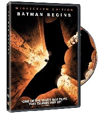 DVD MOVIE DVD BATMAN BEGINS (WIDSCREEN 2005)