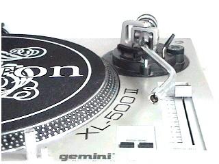 GEMINI Turntable XL-500 II