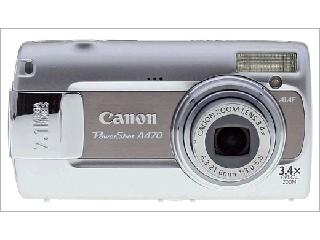 CANON Digital Camera POWERSHOT A470