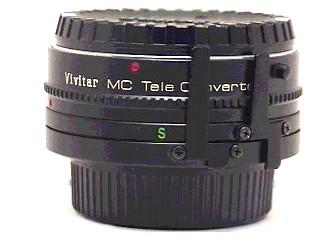 VIVITAR Lens/Filter TELE CONVERTER