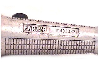 SNAP ON AIR RATCHET FAR72B AIR R