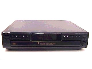 SONY CD Player & Recorder CDP-CE245
