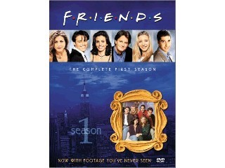 DVD MOVIE DVD FRIENDS THE COMPLETE FIRST SEASON