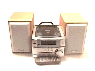 PANASONIC CD Player & Recorder SA-PM03