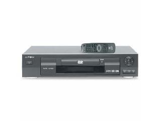 APEX DVD Player AD-500W DVD/CD/MP3 PLAYER