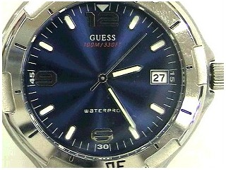 GUESS Gent's Wristwatch G65024G