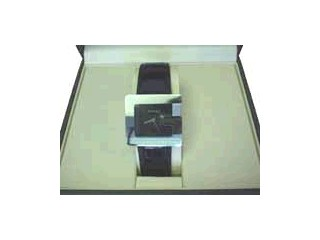 GUCCI BLACK DIAL G FACE WATCH STAINLESS STEEL 3600M