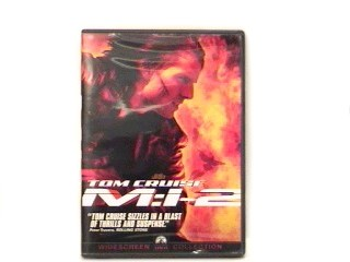 DVD MOVIE DVD MISSION IMPOSSIBLE 2