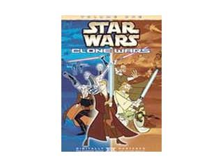 DVD MOVIE DVD STAR WARS: CLONE WARS VOL. 1