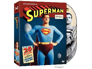 DVD MOVIE DVD ADVENTURES OF SUPERMAN: SEASON 1 (1952)