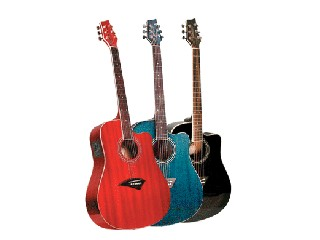 KONA Electric-Acoustic Guitar K1BK