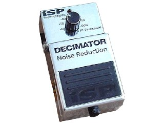 ISP Effect Equipment DECIMATOR NOISE REDUCTION