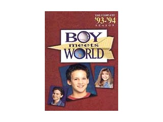 DVD MOVIE DVD BOY MEETS WORLD-THE COMPLETE FIRST SEASON (2004)
