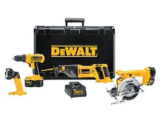 DEWALT Combination Tool Set DC4CPKA 18V CORDLESS