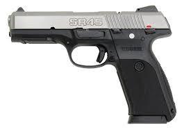 RUGER Pistol SR45 STAINLESS