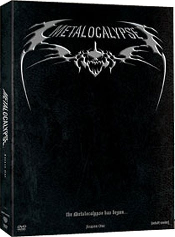 DVD BOX SET DVD METALOCALYPSE