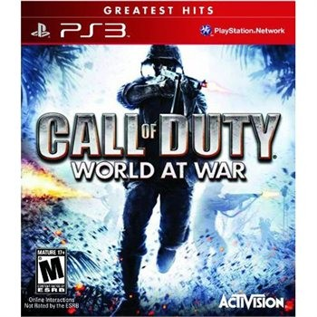SONY Sony PlayStation 3 Game CALL OF DUTY WORLD AT WAR
